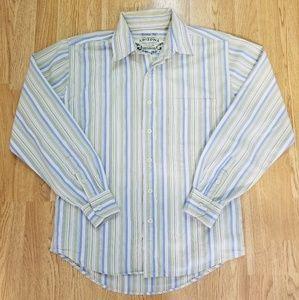 Mens Arizona Jean Company Full Button Up